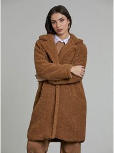 Пальто эко мех