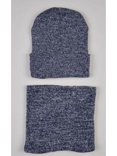Комплект шапка и шарф-хомут мальч.