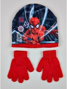 Комплект шапка и перчатки мальч.